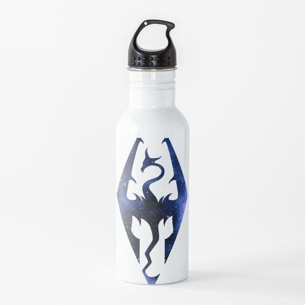 Skyrim - Logo (Galaxy Design) Botella de agua
