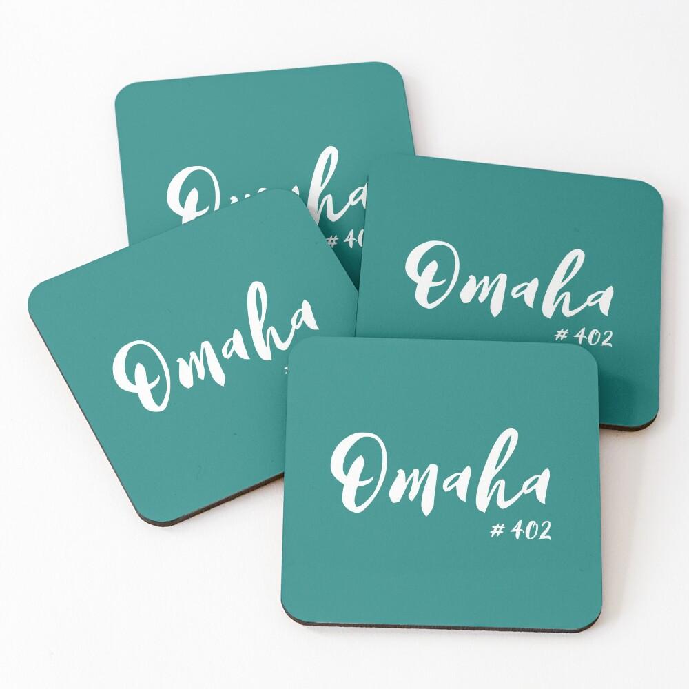 Omaha Coasters (Set of 4)