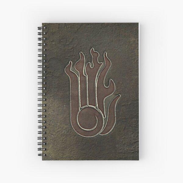 Destruction School Spell Tome (Skyrim) Spiral Notebook