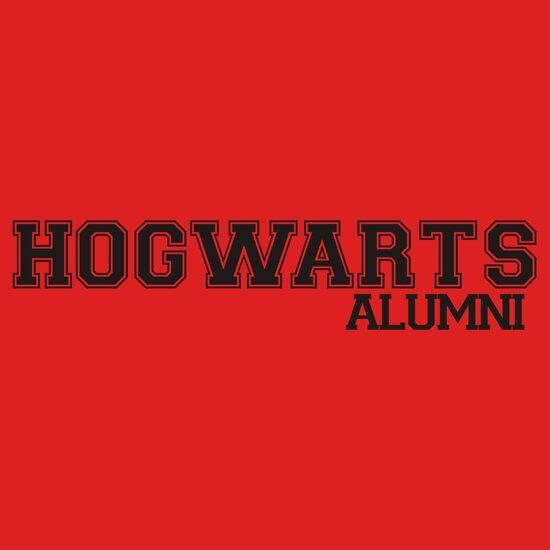 TShirtGifter presents: Hogwarts Alumni Varsity Black Print