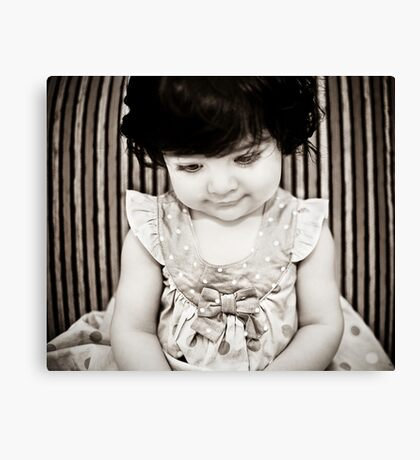 Living Doll Canvas Print