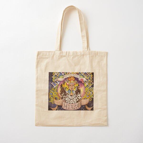 Warrior Heart Cotton Tote Bag