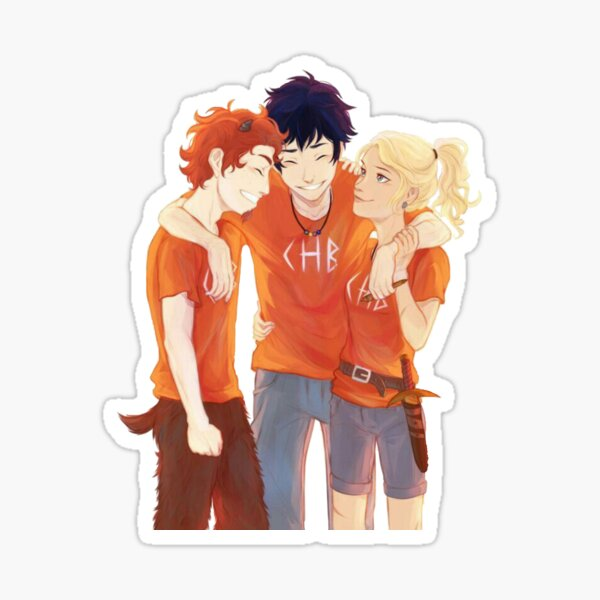 Percy x Grover x Annabeth Sticker