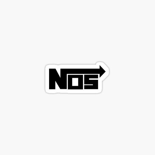 NOS nitrous Oxide System sticker Sticker