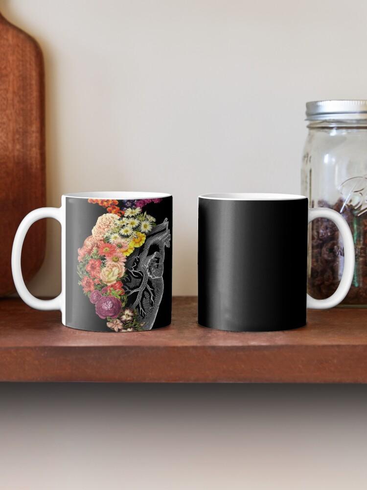 Alternate view of Flower Heart Spring Mug