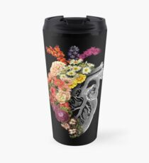 Flower Heart Spring Travel Mug