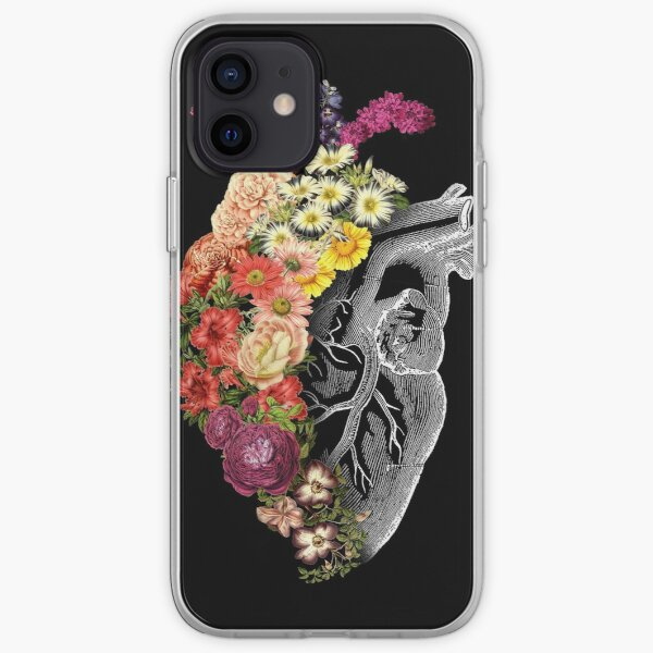 Flower Heart Spring iPhone Soft Case