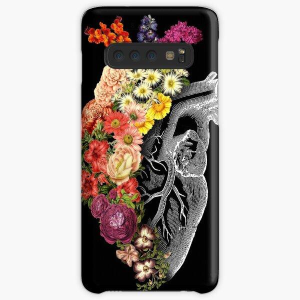 Flower Heart Spring Samsung Galaxy Snap Case