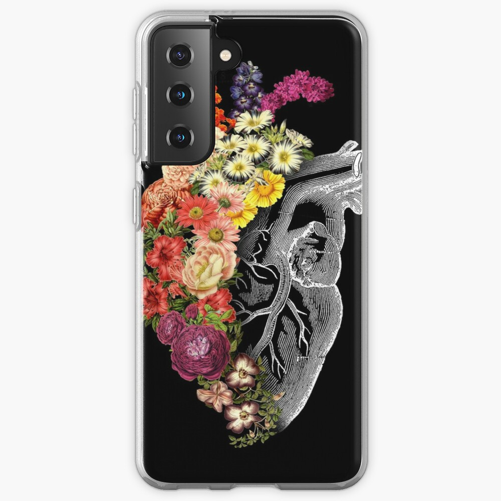 Flower Heart Spring Case & Skin for Samsung Galaxy