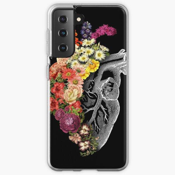 Flower Heart Spring Samsung Galaxy Soft Case