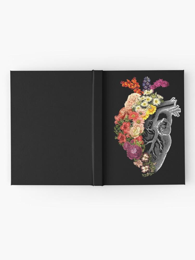 Alternate view of Flower Heart Spring Hardcover Journal
