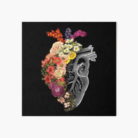 Flower Heart Spring Art Board Print