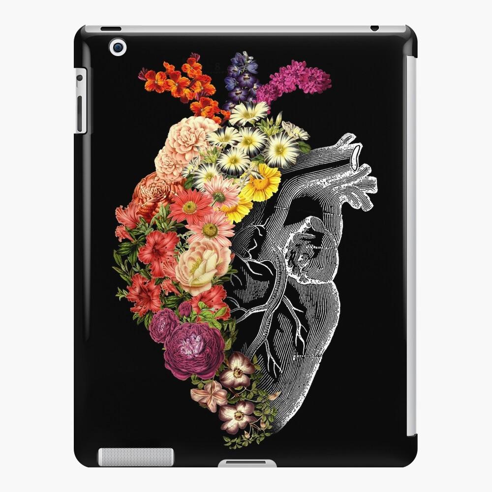 Flor corazón primavera Funda y vinilo para iPad
