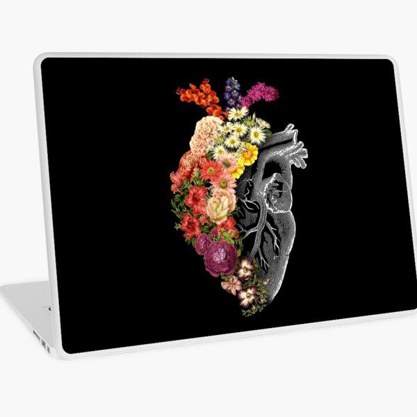 Flower Heart Spring Laptop Skin