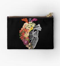 Flower Heart Spring Zipper Pouch