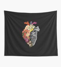 Flower Heart Spring Tapestry