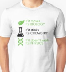 Biology - Chemistry - Physics Slim Fit T-Shirt