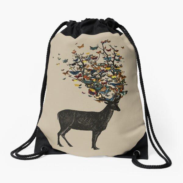 Wild Nature Drawstring Bag