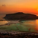 Balos sunset - Crete by Hercules Milas