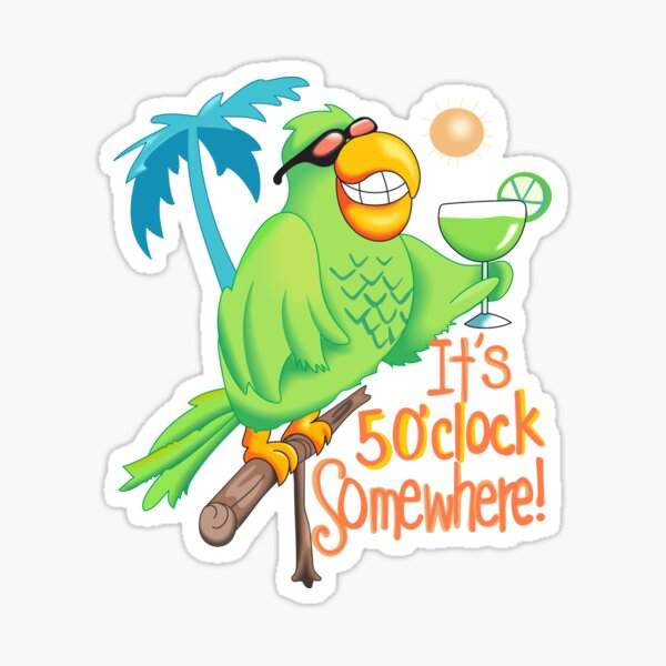 Party Parrot Sticker
