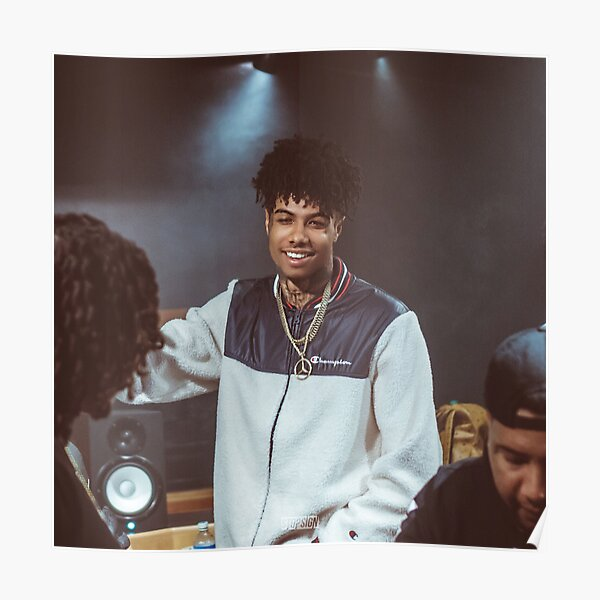 BlueFace in Studio; Luizzy G Poster
