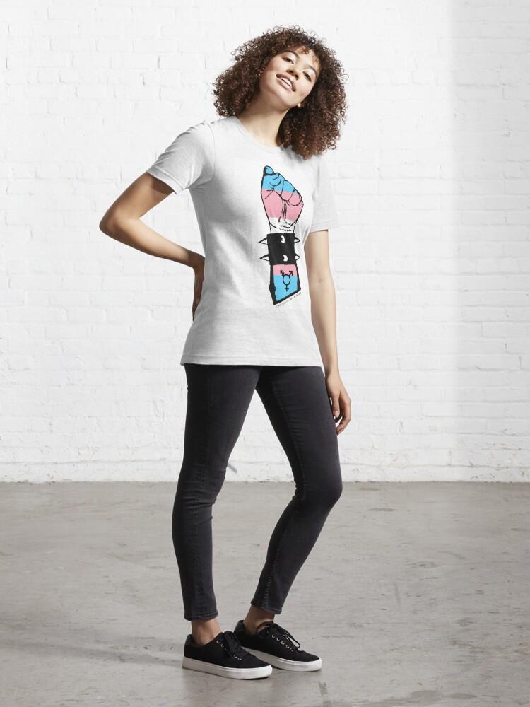 Alternate view of Trans fist Essential T-Shirt