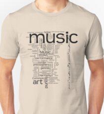 MUSIC is ART Unisex T-Shirt