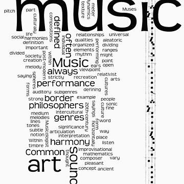 MUSIC is ART by TaniaRose