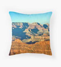 Sundown, Grand Canyon Throw Pillow