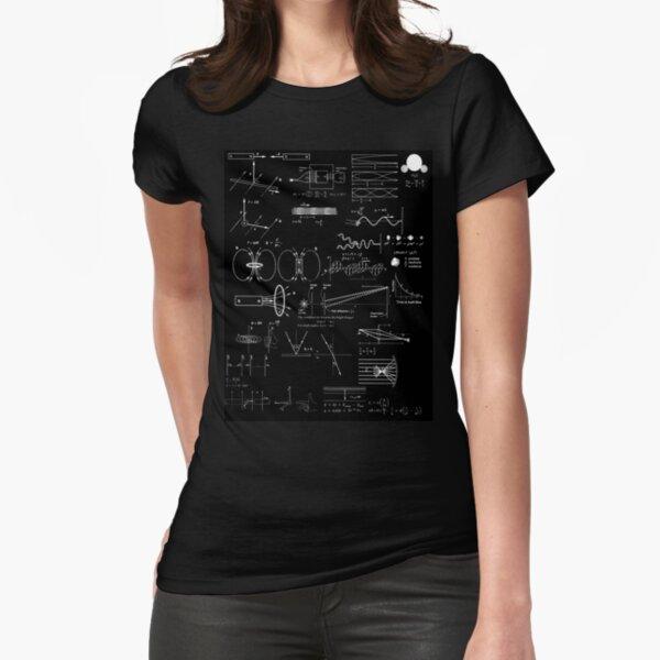 #Physics #Formula Set #PhysicsFormulaSet #FormulaSet Fitted T-Shirt