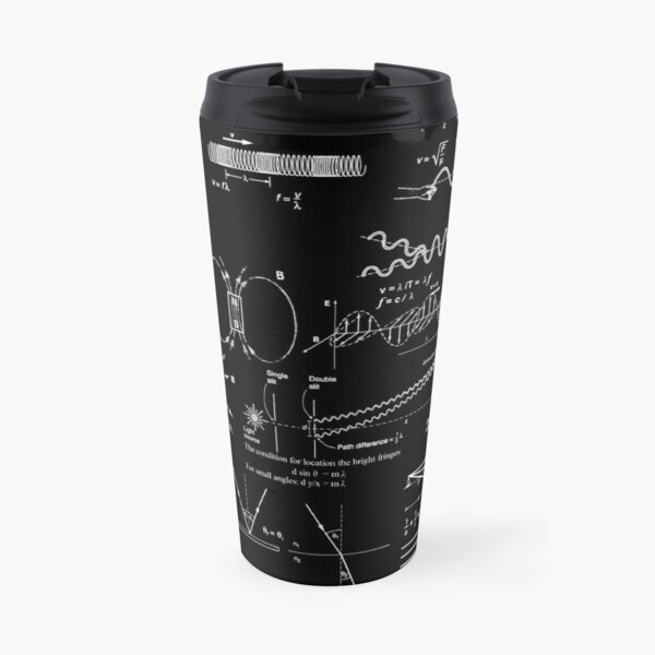 #Physics #Formula Set #PhysicsFormulaSet #FormulaSet Travel Mug