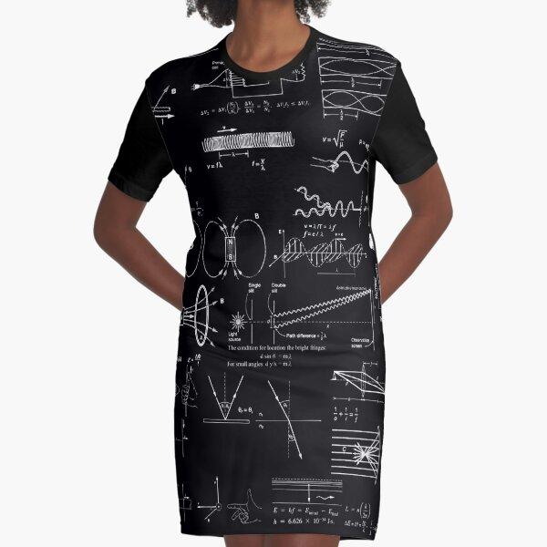 #Physics #Formula Set #PhysicsFormulaSet #FormulaSet Graphic T-Shirt Dress