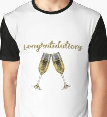 Congratulations Cheers! Graphic T-Shirt