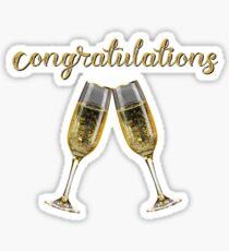 Congratulations Cheers! Sticker