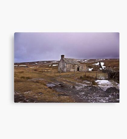 Dales Ruin Canvas Print