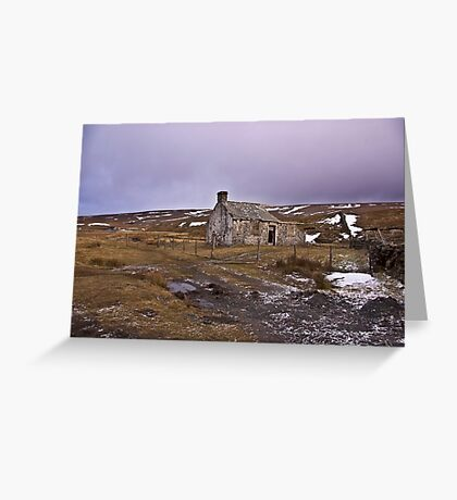 Dales Ruin Greeting Card