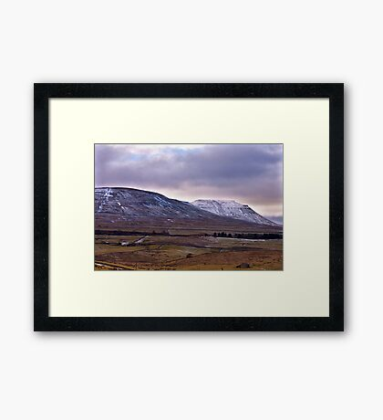 Whernside Fell Framed Print