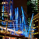 Kurilpa Bridge Lights by Aaron Holloway