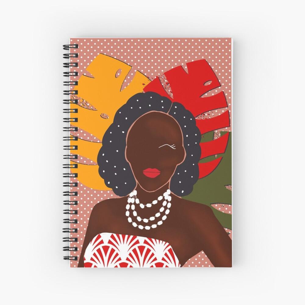 Festival pop art print Spiral Notebook
