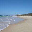 Gold Coast Beach on a Sunny Winter's Day by aussiebushstick