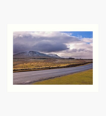 Road to the Dales Art Print