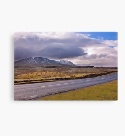 Road to the Dales Canvas Print