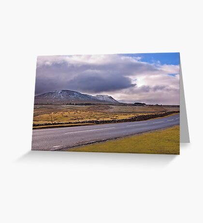 Road to the Dales Greeting Card
