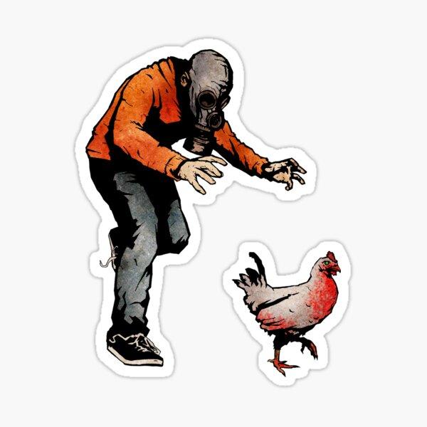 LEROY VS THE EVIL ZOMBIE CHICKEN! Sticker