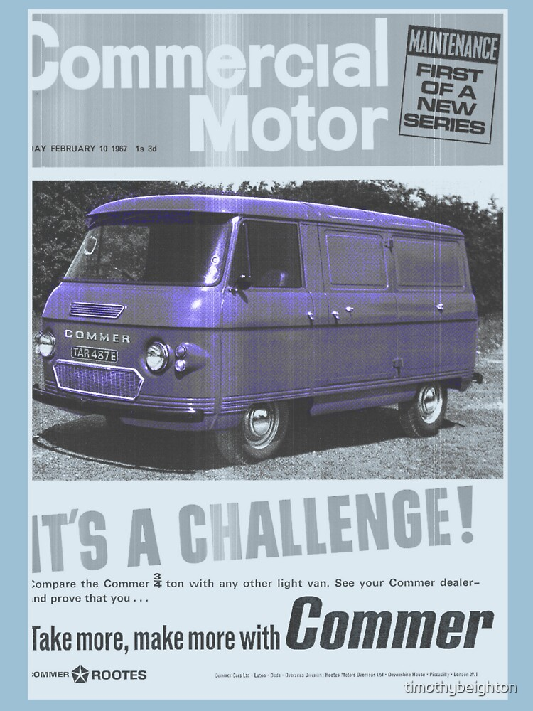 Commercial Motor- It's a Challenge- commer van- 1971! by timothybeighton