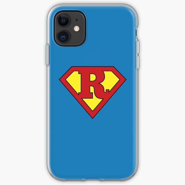 R Programming Superhero Cool Data Scientist/Engineer Design iPhone Soft Case