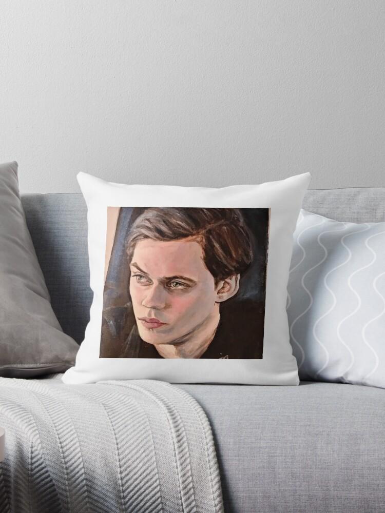 Gift Bill Skarsgard Cushion Pillow Cover Case