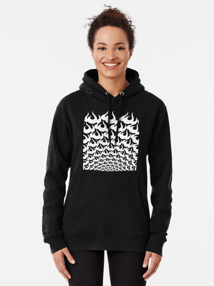 Alternate view of Stoic Fire Vortex - Strength To Fight Back Chaos 1 Pullover Hoodie