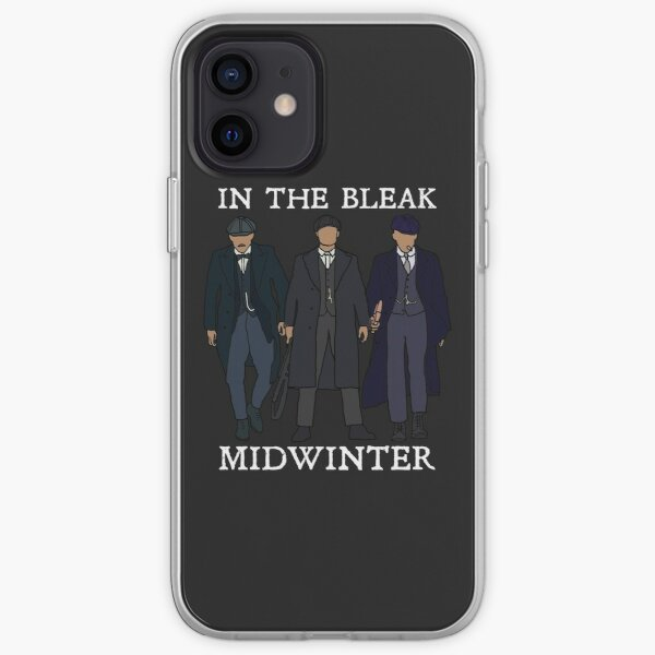 In the bleak midwinter: Peaky Blinders (White) iPhone Soft Case