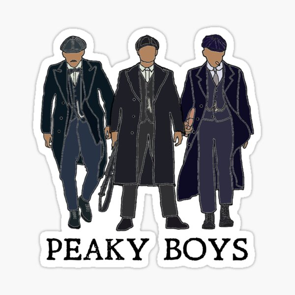 Arthur et John Shelby Conception de citation: Peaky Boys Sticker
